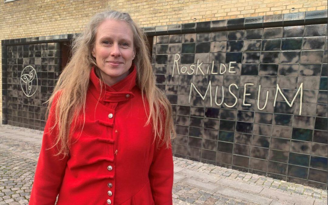 Dorthe skaber nye museumsoplevelser på Roskilde Museum