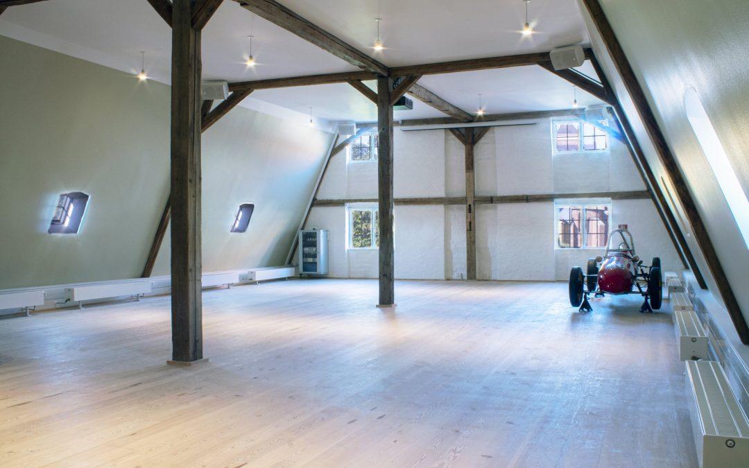 Roskilde Museum åbner foredragssal på 'Sukkerloftet'